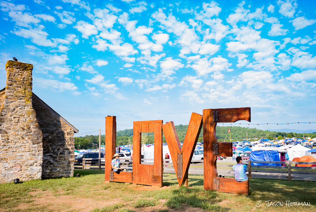 It was a beautiful weekend at Infinity Downs during LOCKN 2017