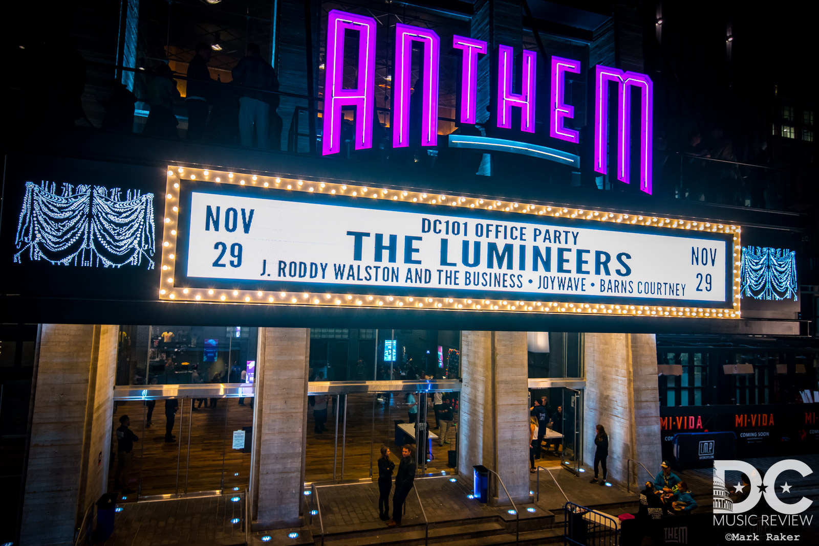The Lumineers Shine At Dc101s Office Party