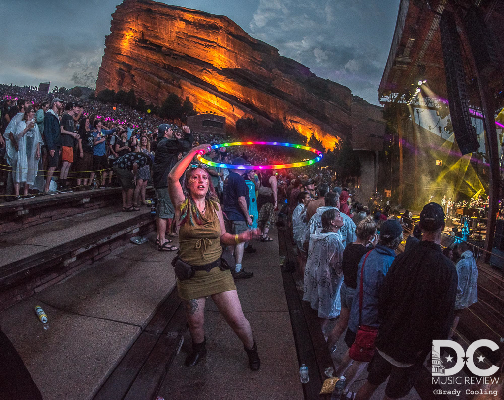 The Audience At Red Rocks For The String Cheese Incident