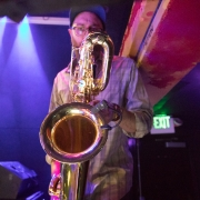 Have you ever wondered what it looks like from the sheet music's perspective at it is being read? Here is master #baratoneSaxaphone performer from @JazzIsPhish playing at the 2019-01-19 #Baltimore #The8x10 show! #HTBARP #concert #liveMusic #saxaphone