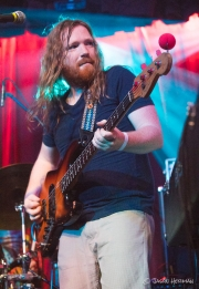 Reed Mathis of Electric Beethoven (notice the Wavy Nose on his bass)