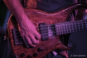 A closeup of Brian Adam's modulus bass.