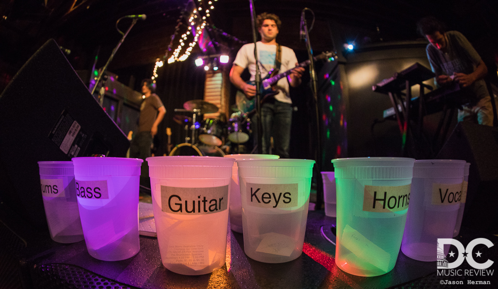 The Cups of The Tuesday Night Jam