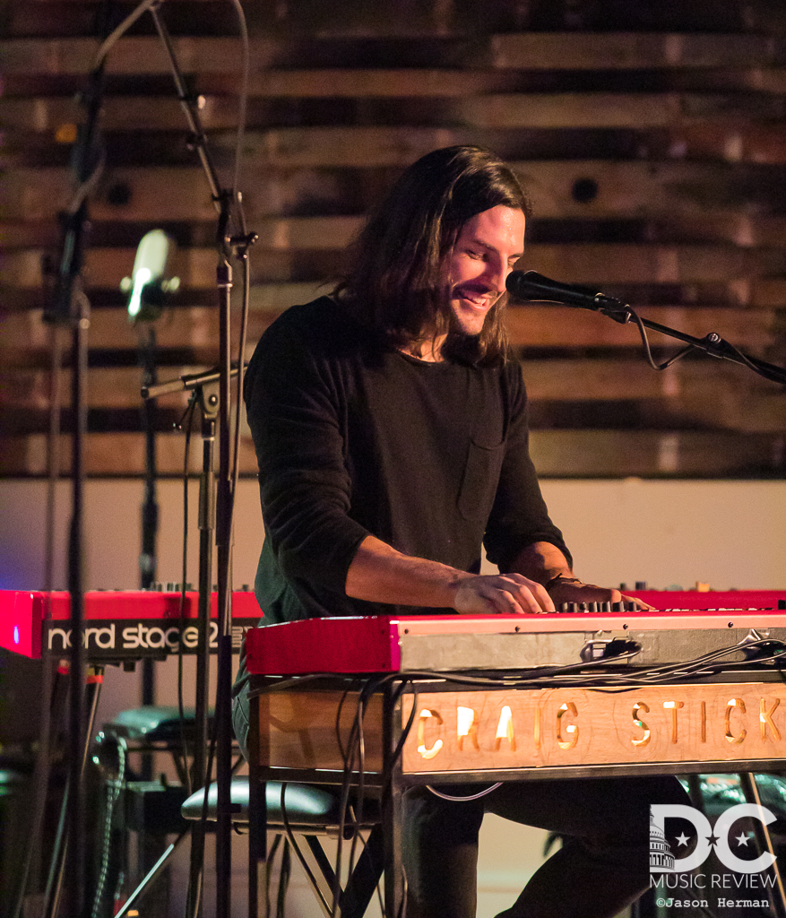 Craig Stickland performs at City Winery DC