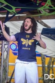 Scrambled Greg pretends to sing opera