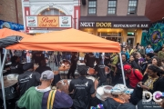 The Caribbean Identity performed to a HUGE crowd in front of Ben's Chili Bowl