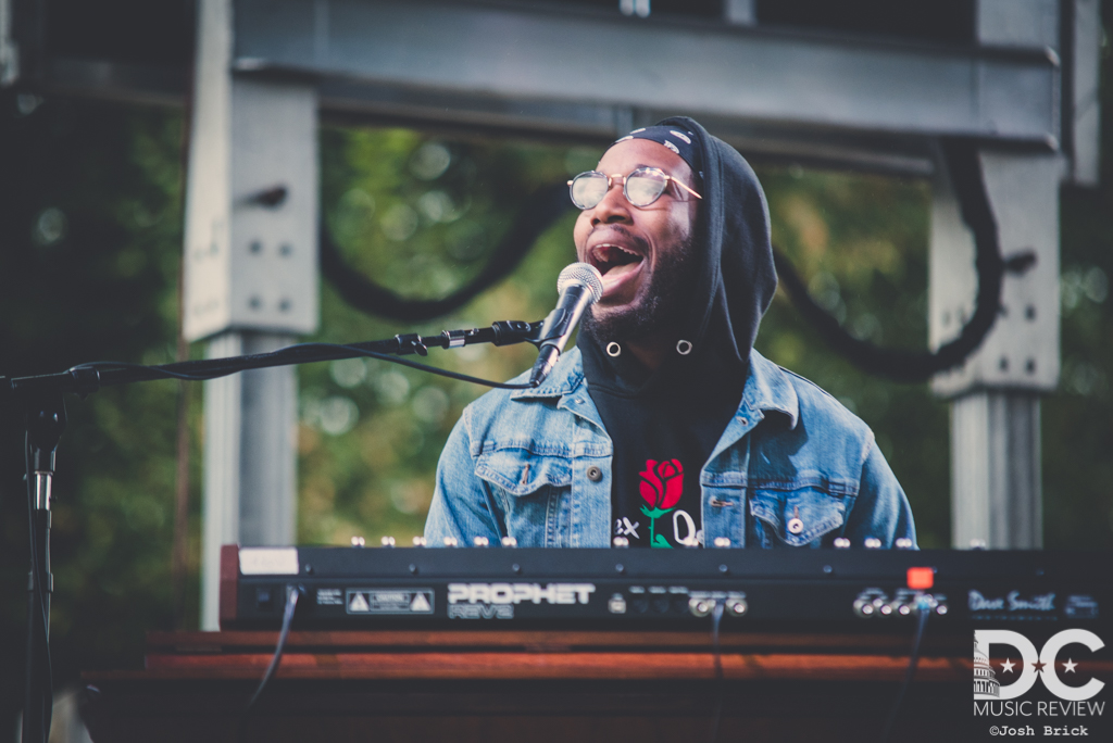 Cory Henry at Rosslyn Jazz Fest 2018