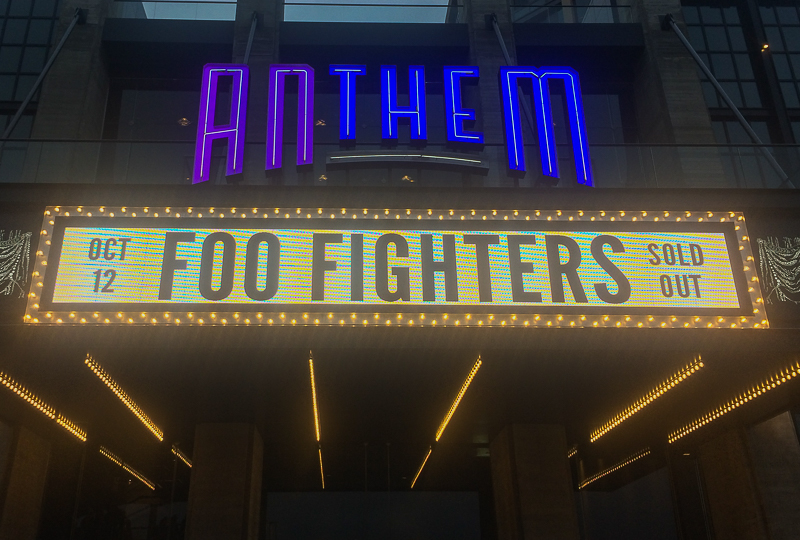 Foo Fighters Opening Night at The Anthem