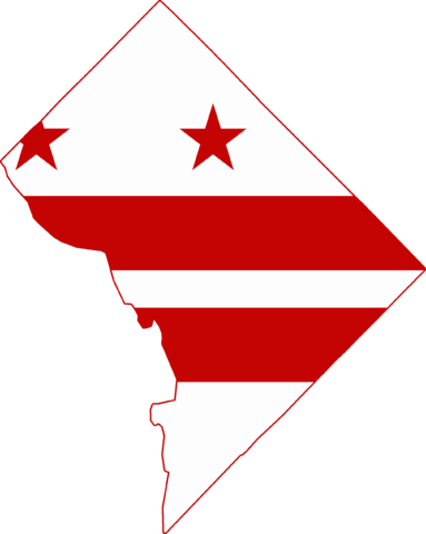 DC Flag as map