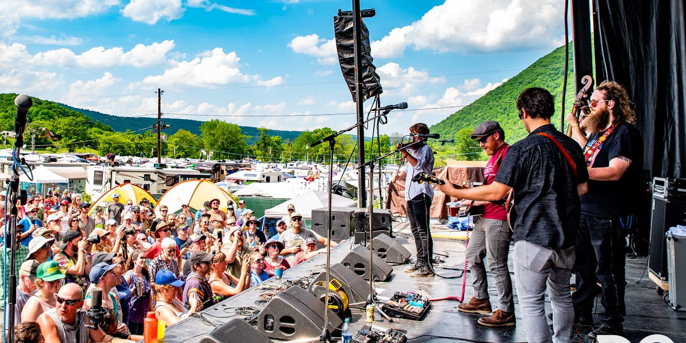 The Lil Smokies perform at DelFest 2018