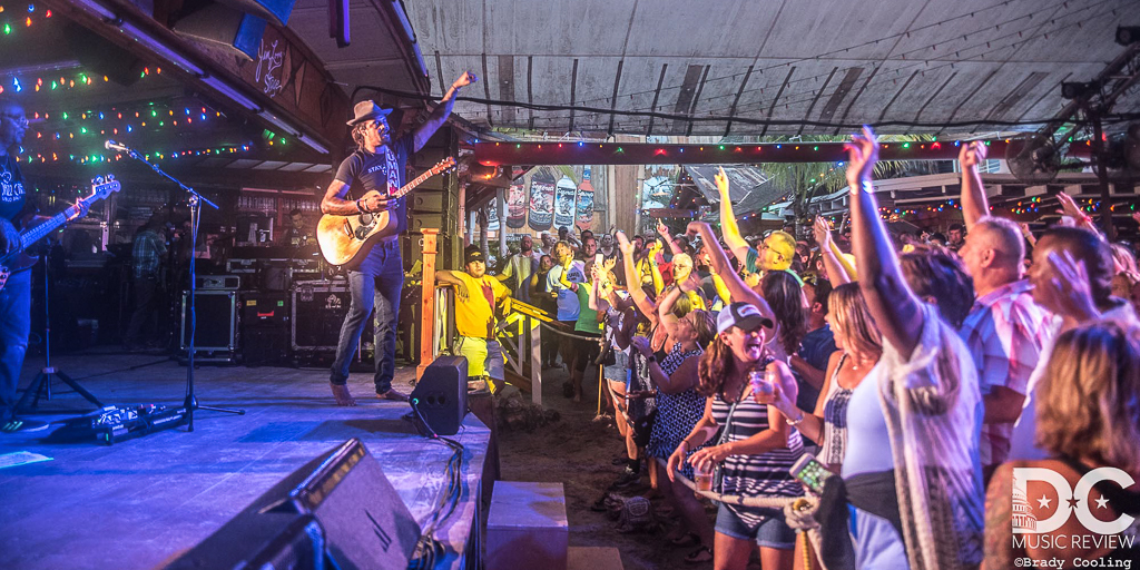 Michael Franti performs at Seacrets
