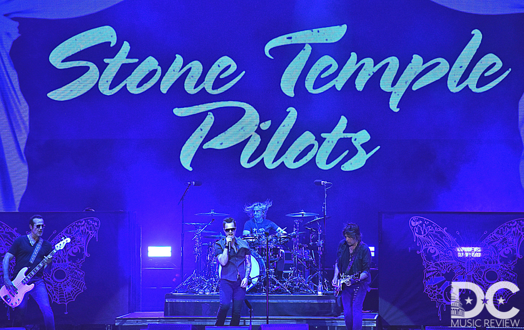 Stone Temple Pilots Perform at Jiffy Lube Live
