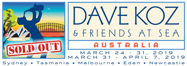 2019 Dave Koz and Friends at Sea Cruise Voyage - Sold Out