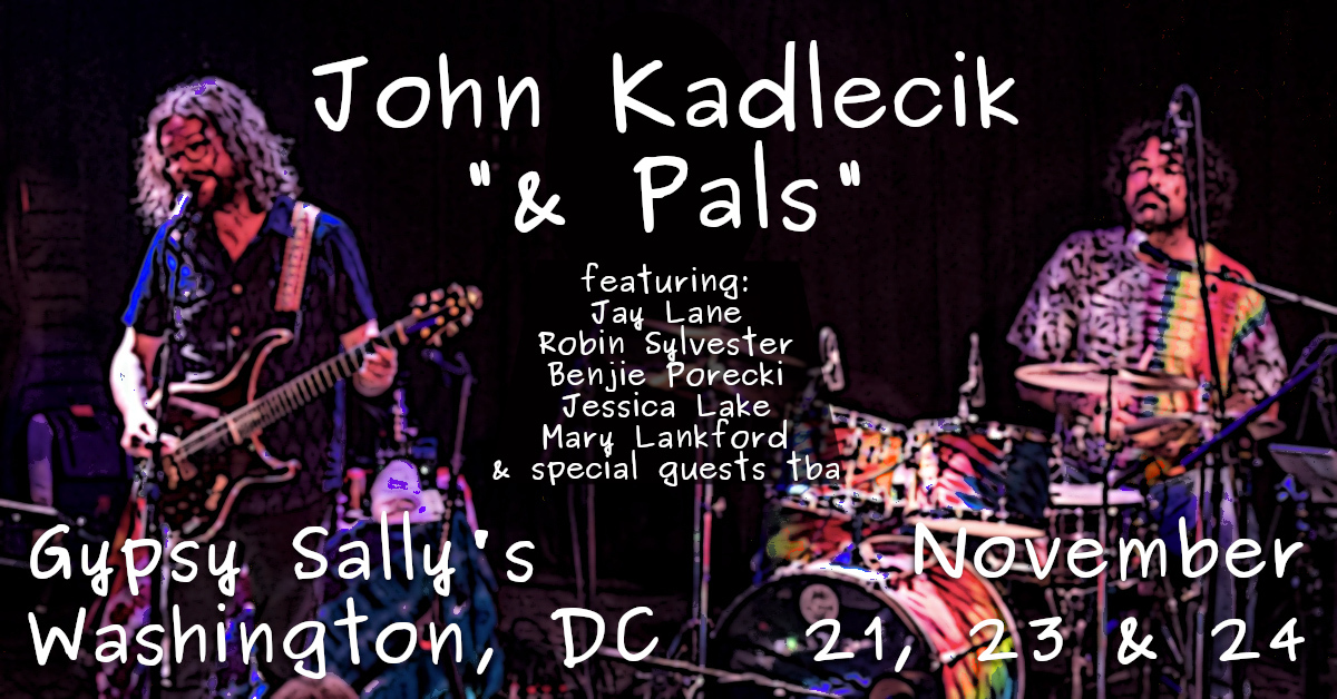 John Kadlecik & Pals Announce Thanksgiving Gypsy Sally's Run (Photo Credit: Jay Blakesberg)