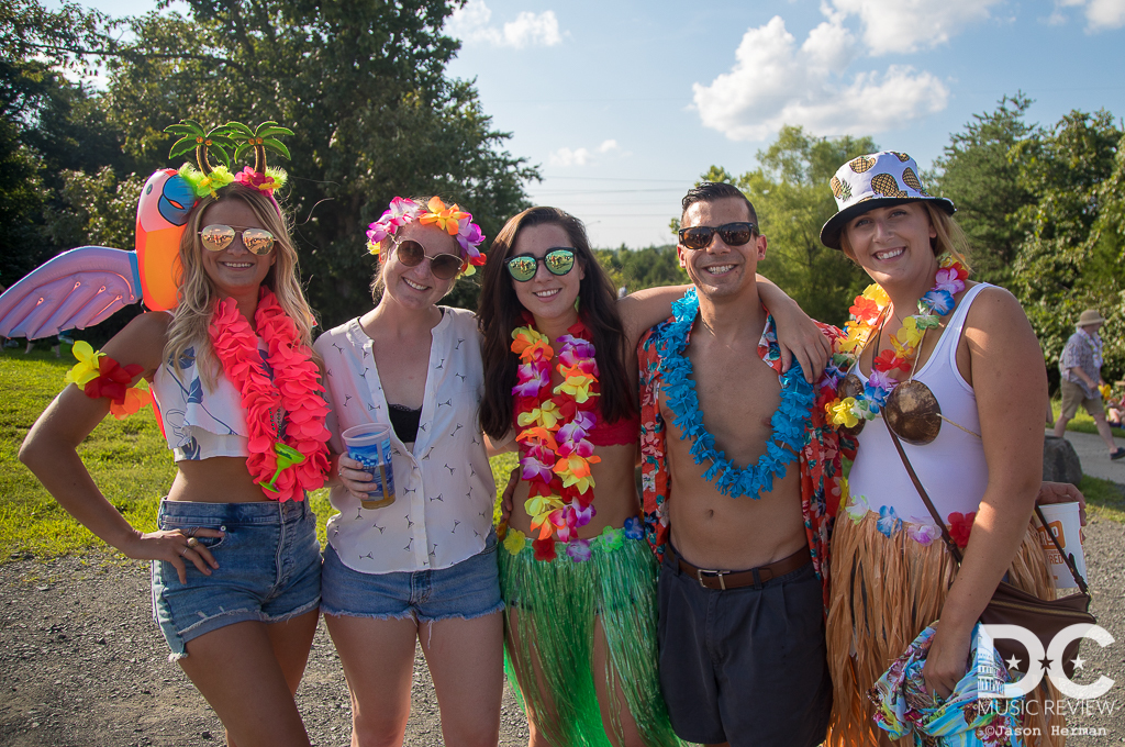 A new generation of Parrotheads enjoy the Jimmy Buffett Tailgate Experience