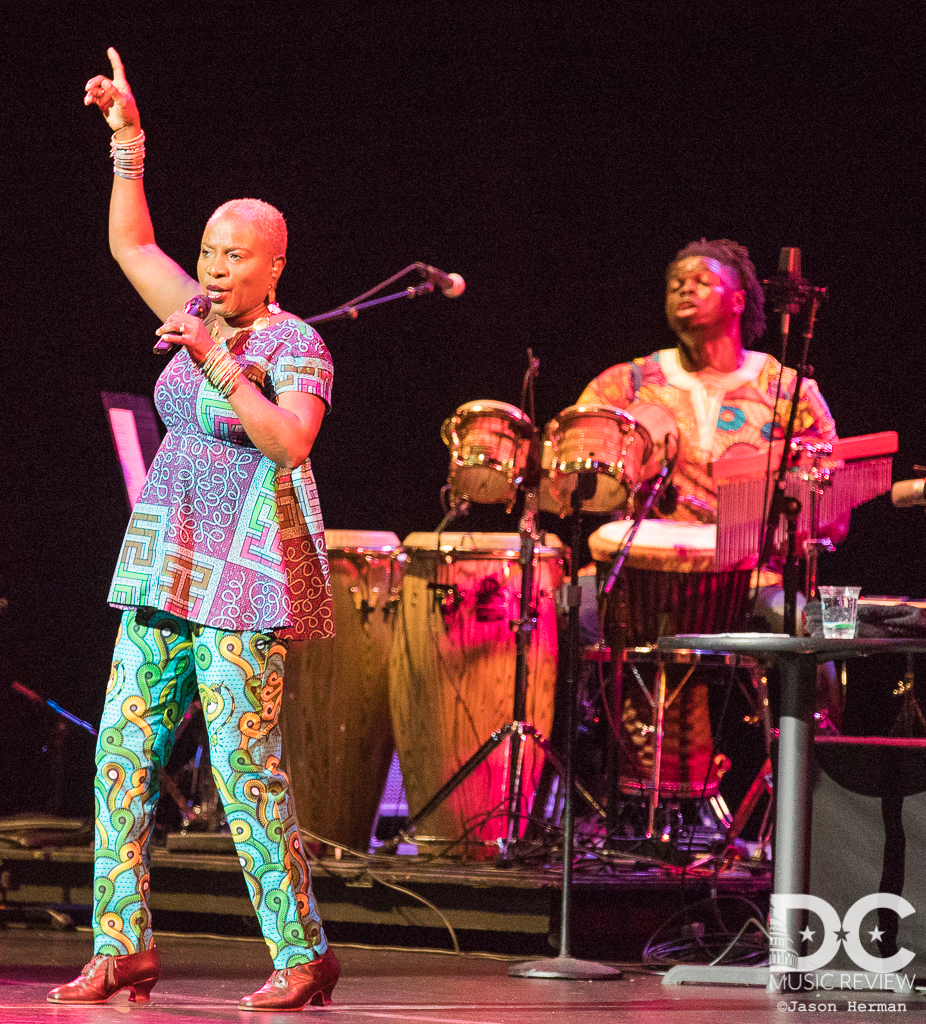 Angelique Kidjo performs at Wolf Trap