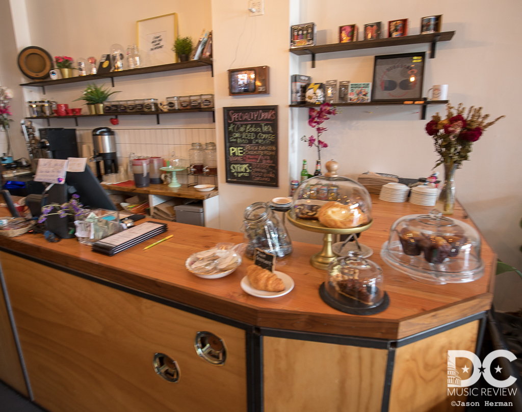 Songbyrd Cafe's Coffee Bar with Plenty of Snacks Available