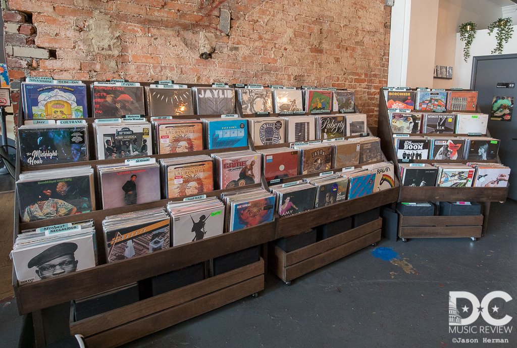 Songbyrd Cafe's Extensive Vinyl Collection