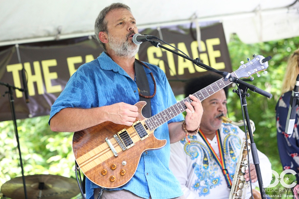 Hall Williams Band performs at Hot August Music Festival