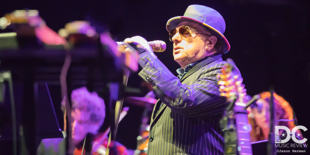 Van Morrison Performs at Jiffy Lube Live