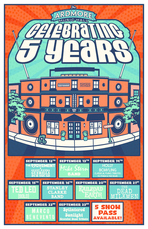 Ardmore Music Hall 5-Year Anniversary Lineup