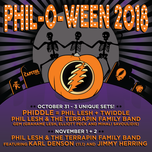 Phil-o-Ween - Phiddle - Phil Lesh & Twiddle