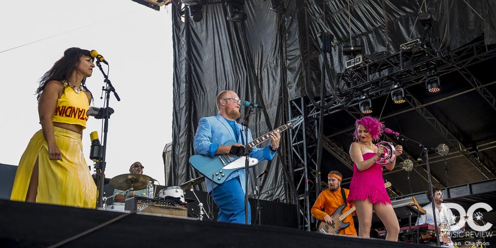 Turkuaz performs at Lockn 2018