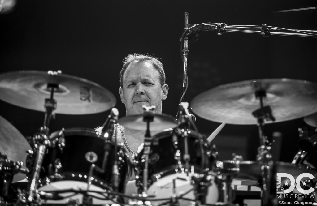 Jon Fishman of Phish at the Hampton Coliseum