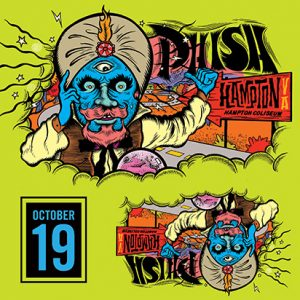 Phish October 19, 2018 Hampton, VA LivePhish.com
