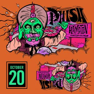 Phish October 20, 2018 Hampton, VA LivePhish.com