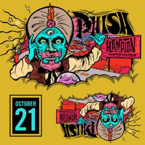 Phish October 21, 2018 Hampton, VA LivePhish.com