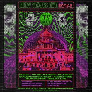 Rock & Roll hotel NYE Blowout! Open Bar All Night + more!