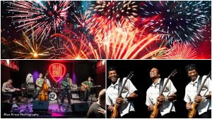 New Year's Eve Extravaganza ft. The Rock-A-Sonics and Linwood Taylor at Pearl Street Warehouse