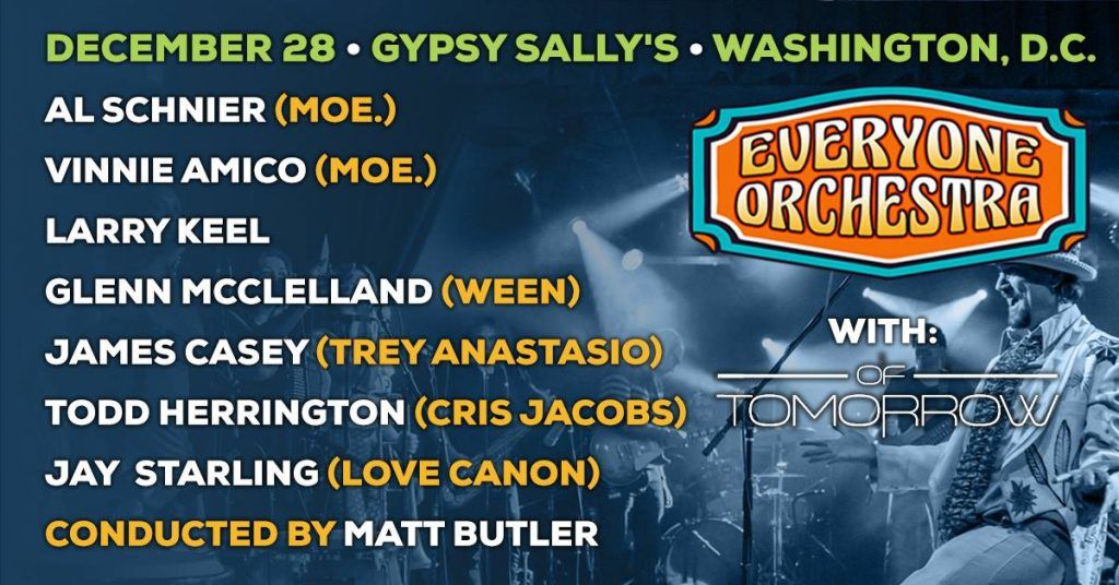 Everyone Orchestra Performs at Gypsy Sallys