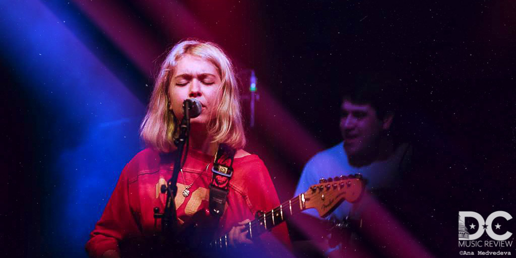 Lindsey Jordan performing in Richmond, Virginia