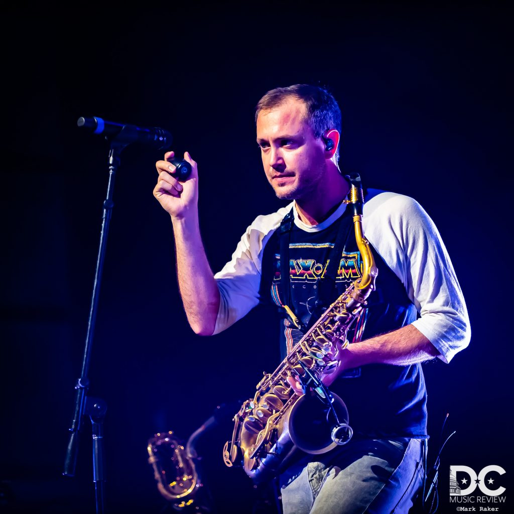 Rob Ingraham of The Revivalists on Saxophone