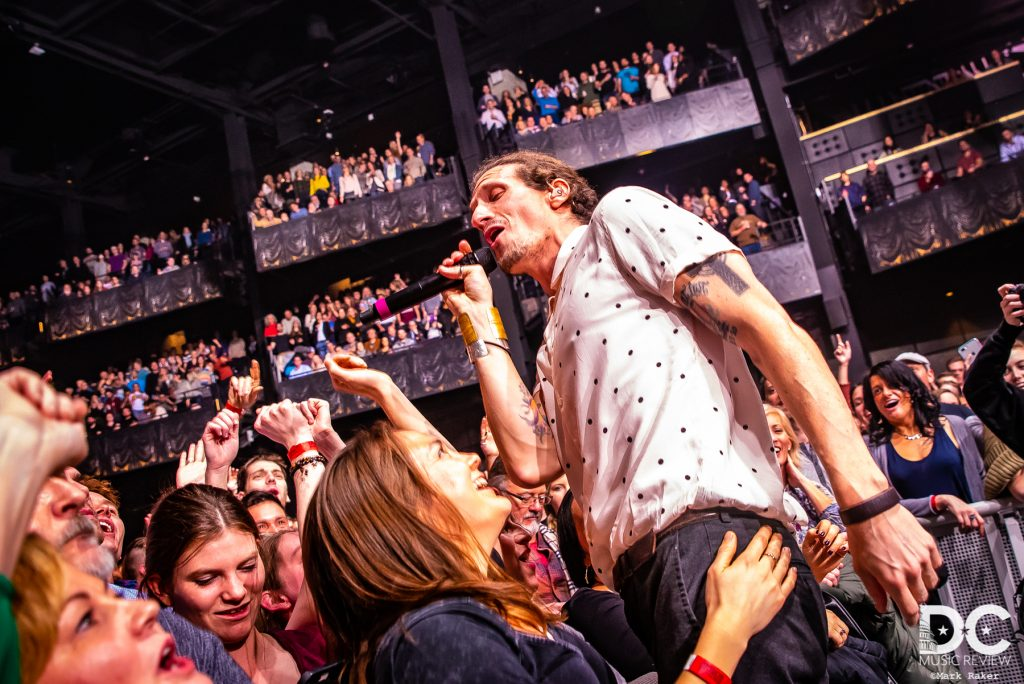 David Shaw of The Revivalists always loves connecting with the audience