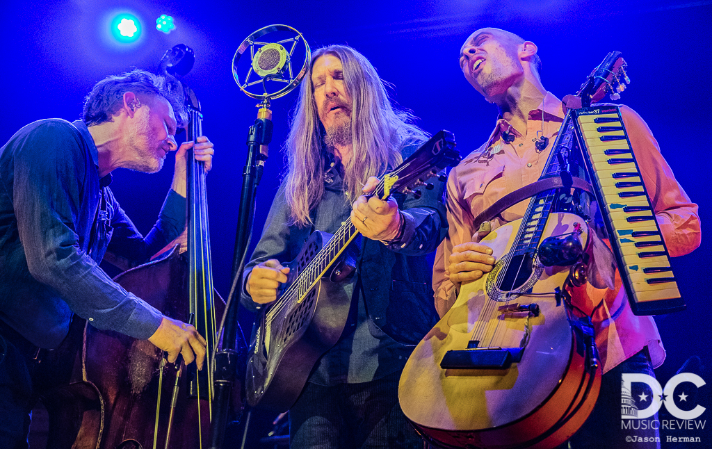 The Wood Brothers perform at the 9:30 Club in Washington DC