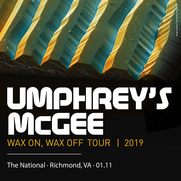 Umphrey's McGee 01/11/19 The National, Richmond, VA