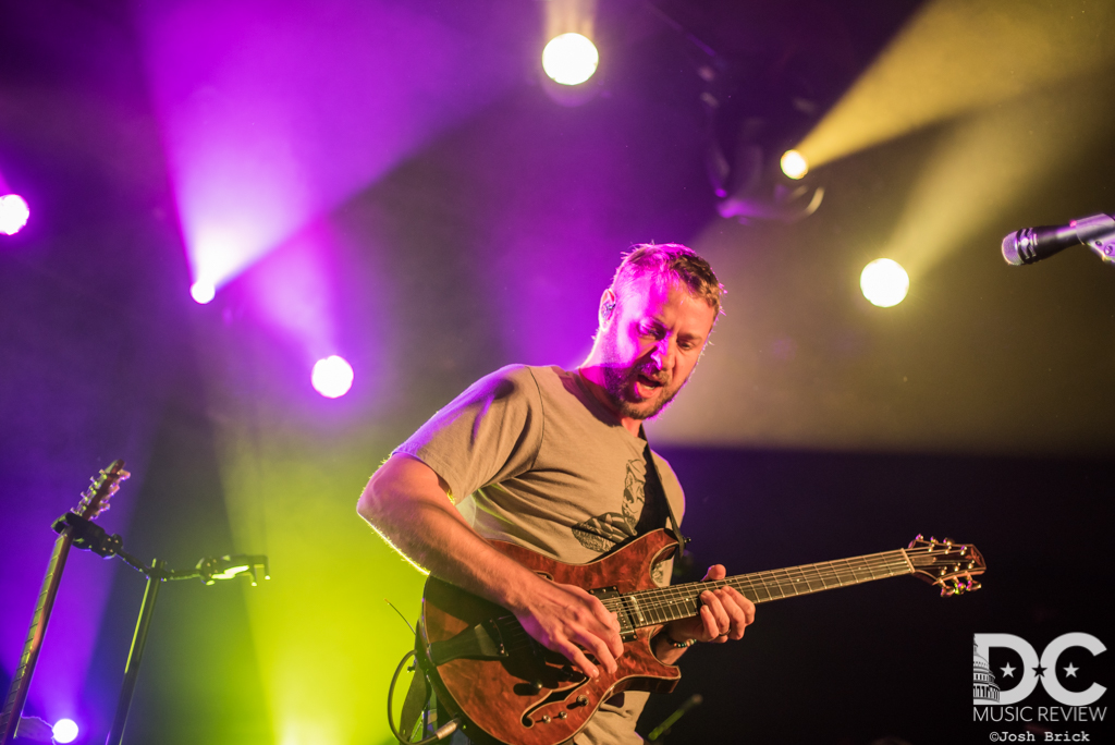 Brian Moss of Spafford performing in 2018 at Union Stage in Washington DC