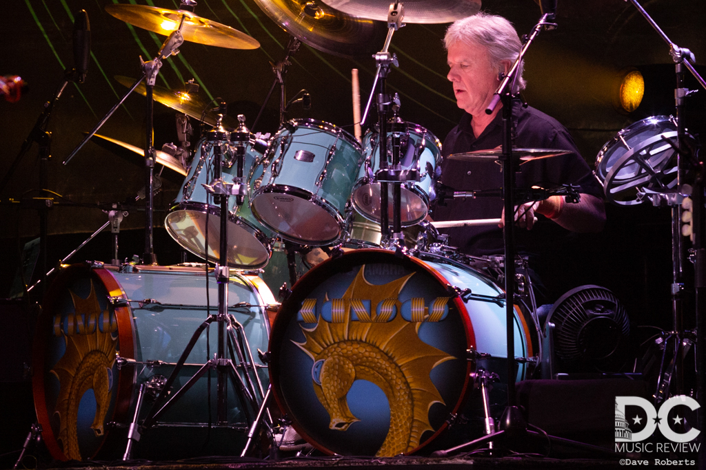 Phil Ehart of Kansas on Drums