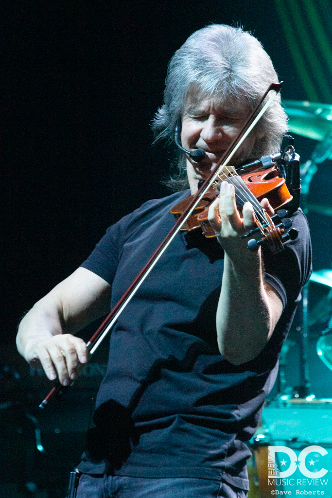 David Ragsdale of Kansas on the Electric Violin