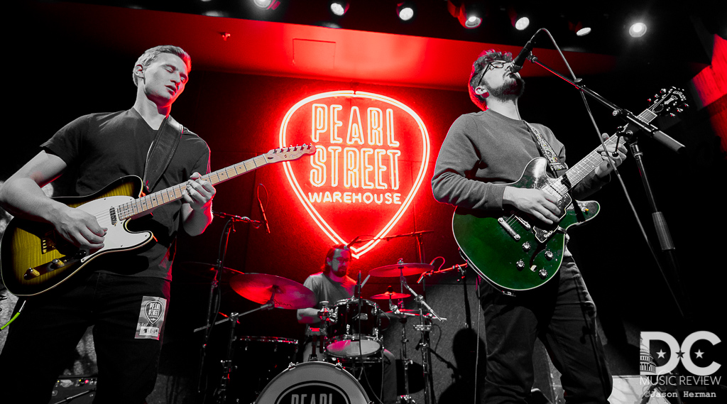 Teddy Scott and Paul Gregg of Bencoolen perform at Pearl Street Warehouse