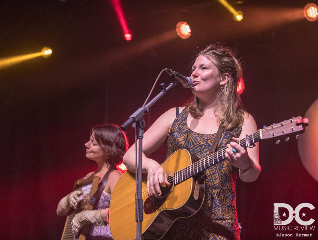 Celia Woodsmith of Della Mae at The Festy Experience 2018