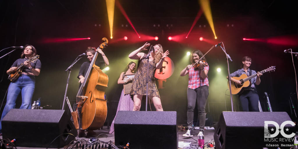 Della Mae performs at The Festy Experience 2018