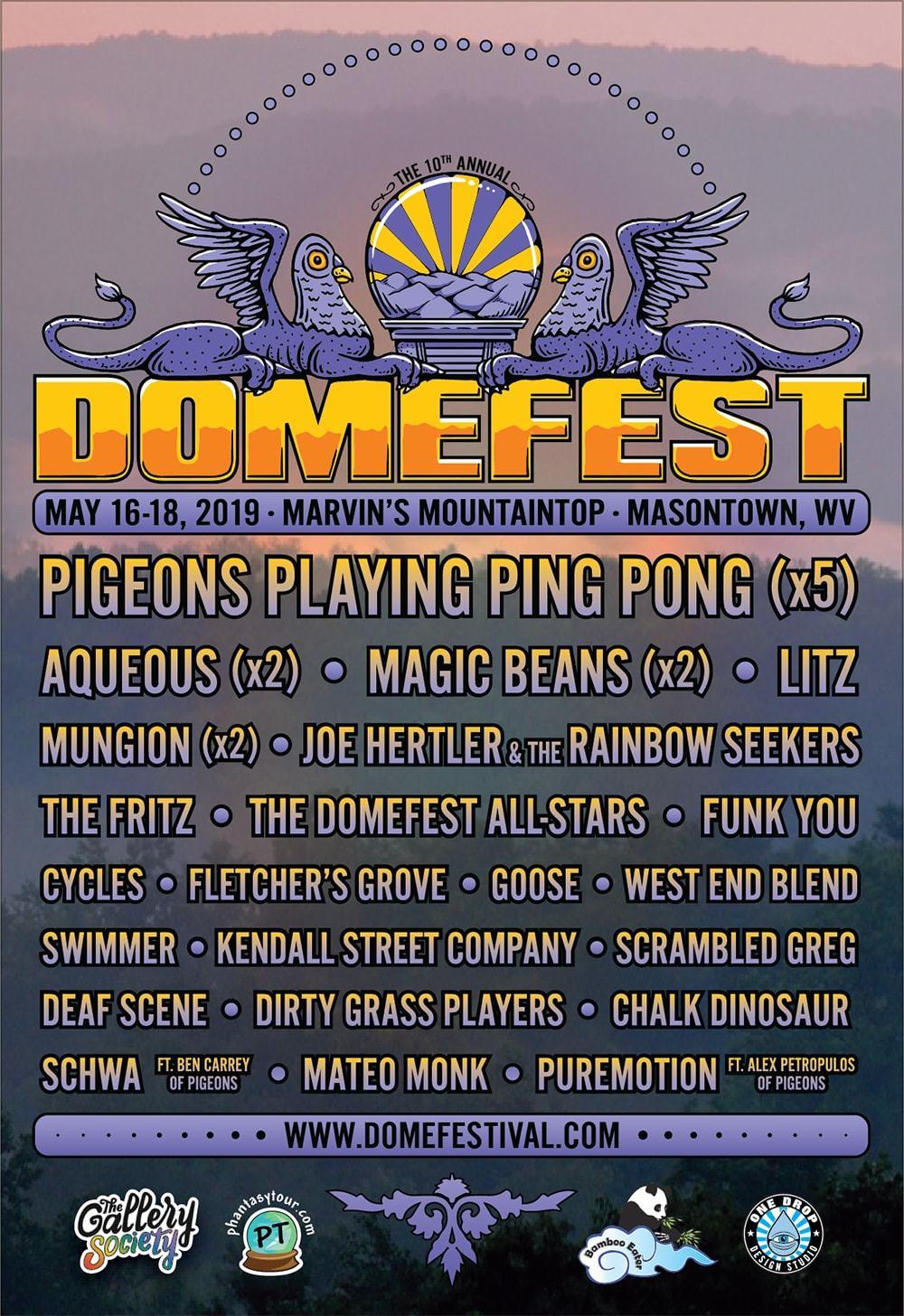 Domefest 2019 - Final Lineup