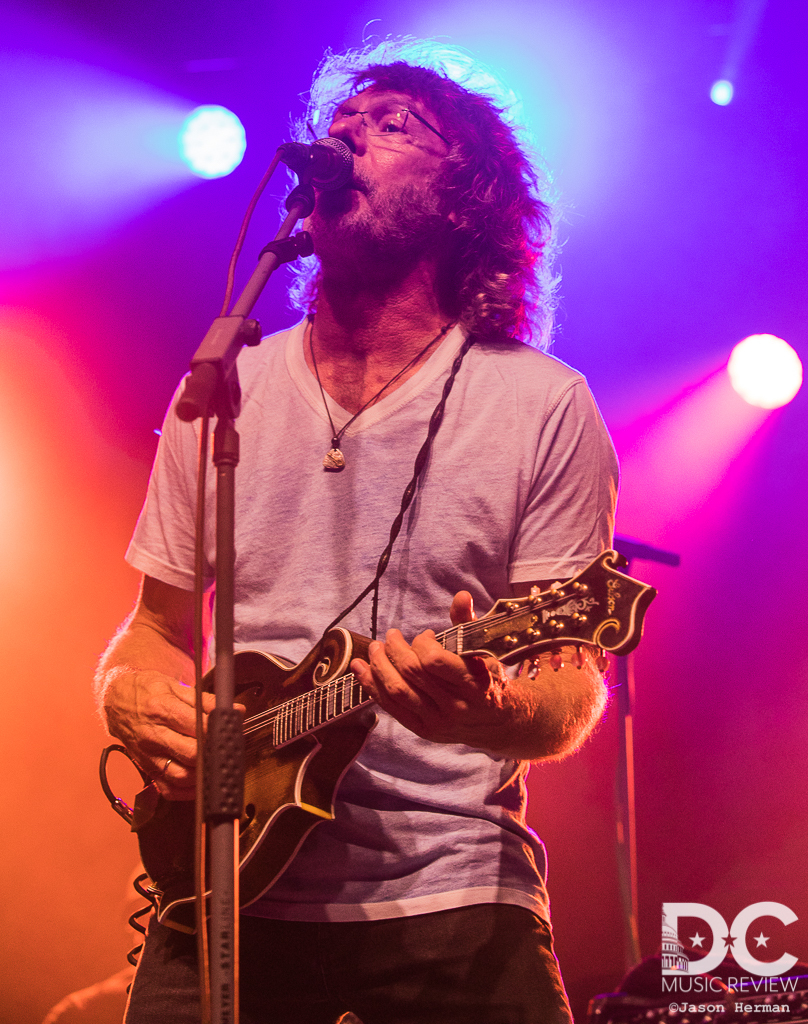 Sam Bush performs at The 2018 Festy Experience