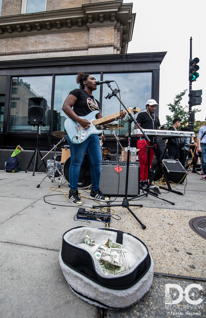 Almost every street corner was filled with music at the 2019 DC Funk Parade