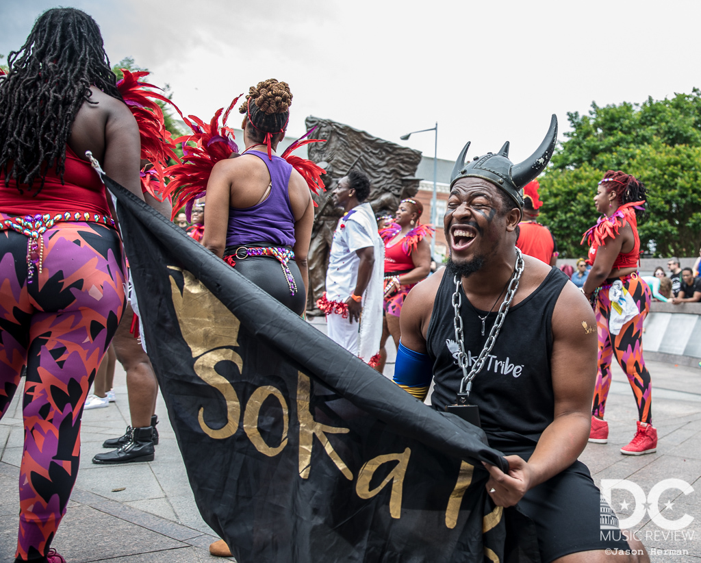 Soka Tribe performs at the 2019 DC Funk Parade