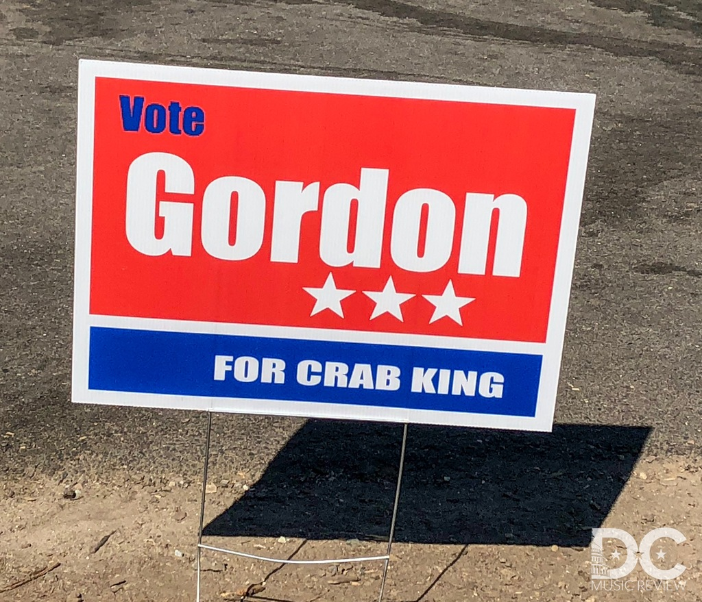 Clearly Mike Gordon will be voted King of the Chesapeake Crabs